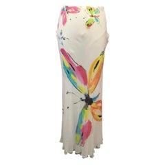 Moschino Cheap Chic Butterfly Maxi Skirt Summer