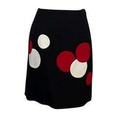 Moschino Cheap Chic Polka Dot Skirt