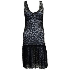 Moschino Cheap n Chic Black Lace Dress