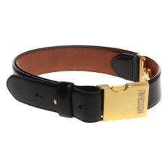 Moschino Clip Buckle Belt