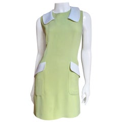 Moschino Color Block Dress