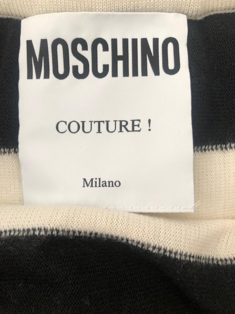 Moschino Couture 1990 Museum Exhibited