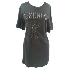 Moschino Couture Black cotton T-shirt NWOT