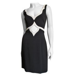 Moschino Couture Cut out Color Block Dress