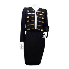 MOSCHINO COUTURE Dinner Jacket Skirt Suit