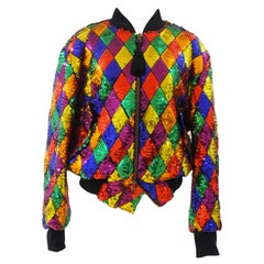 Moschino Couture full sequins bomber / jacket