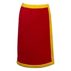 Moschino Couture McDonalds Wrap Skirt NWT