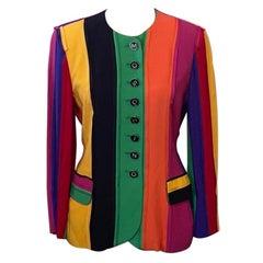 Moschino Couture Rainbow Pride Blazer