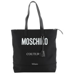 Moschino Couture Tote Nylon Large