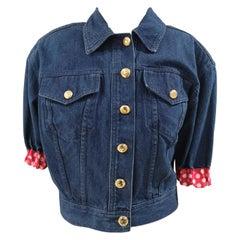 Moschino Denim Short Sleeves Jacket
