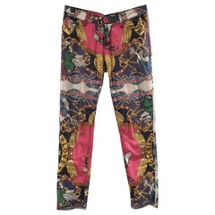 Moschino Duck multicoloured cotton pants