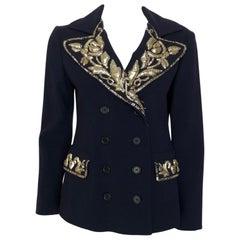MOSCHINO embellished blazer