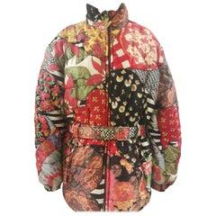Moschino FashOn and FashOff multicoloured Bomber Jacket