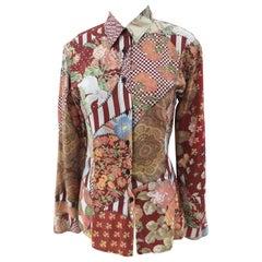 Moschino FashOn FashOff Cotton shirt