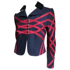 Moschino Geometric Pattern Jacket