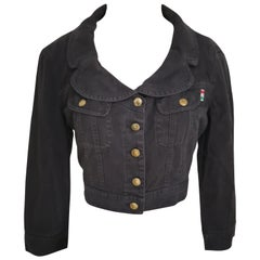 Moschino jeans black jacket