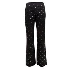 Moschino Jeans Black & Silver Polka Dot Pants