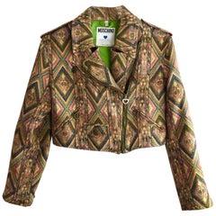 Moschino Jeans bolero biker jacket