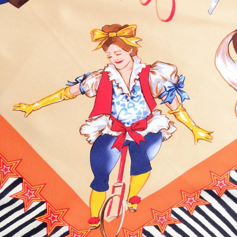Moschino Larioseta Scarf J Aime le Cirque de la Mode I love the fashion Circus 5