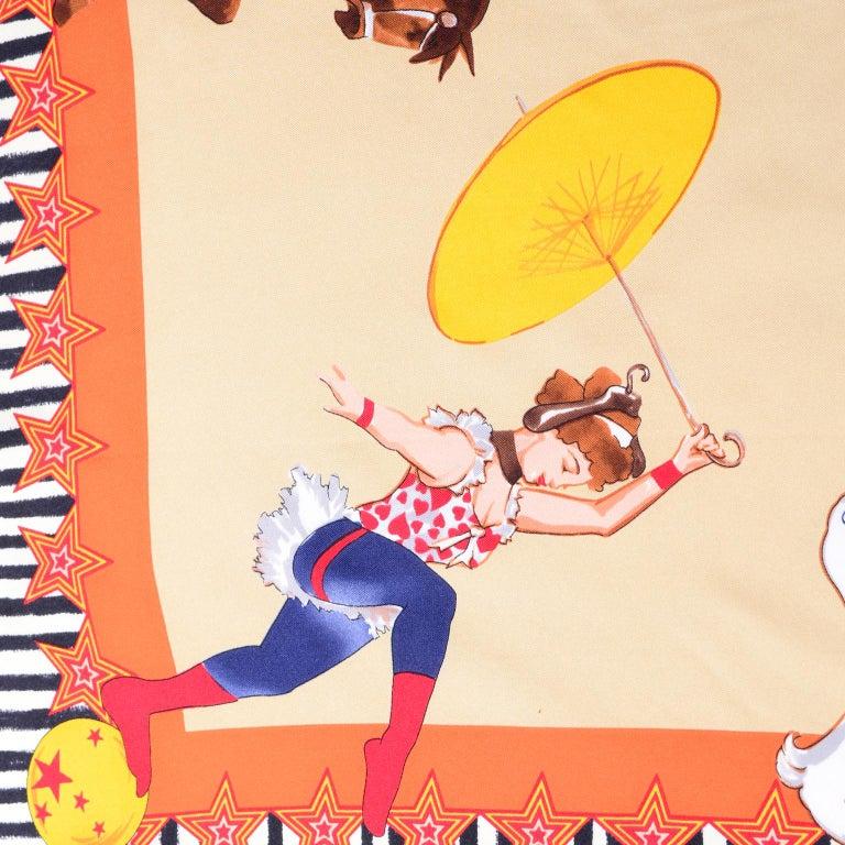 Moschino Larioseta Scarf J Aime le Cirque de la Mode I love the fashion Circus 7