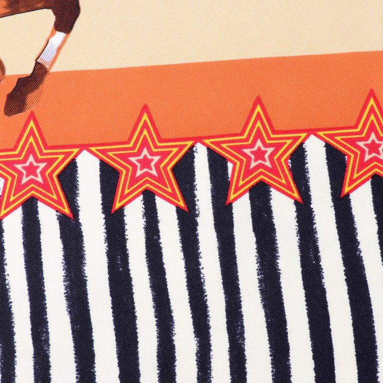 Moschino Larioseta Scarf J Aime le Cirque de la Mode I love the fashion Circus 8