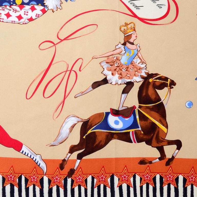 Moschino Larioseta Scarf J Aime le Cirque de la Mode I love the fashion Circus 2