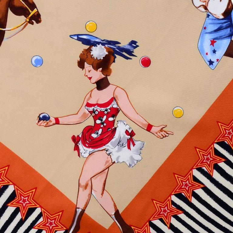 Moschino Larioseta Scarf J Aime le Cirque de la Mode I love the fashion Circus 3