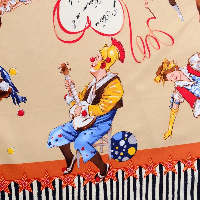 Moschino Larioseta Scarf J Aime le Cirque de la Mode I love the fashion Circus 4