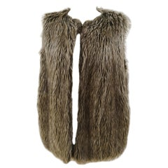 Moschino Love eco fur gilet
