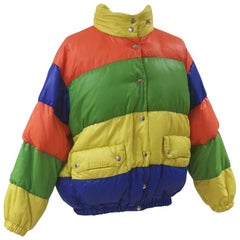 Moschino multicoloured bomber jacket