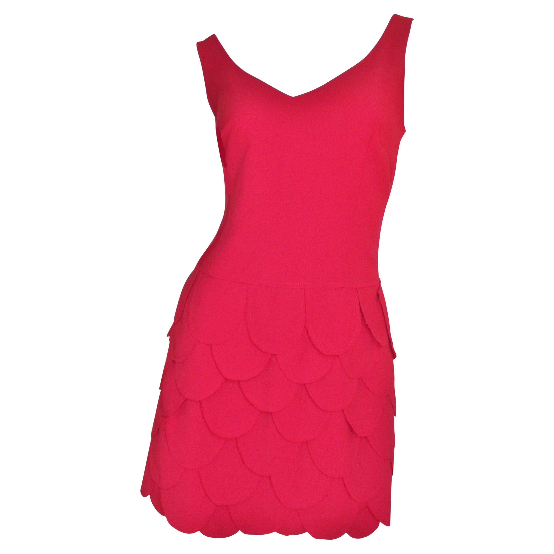 Moschino New Dress with Petal Skirt
