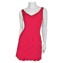 Moschino New Petal Dress