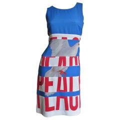 Moschino PEACE Dress