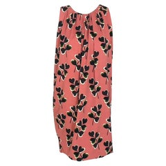 MOSCHINO peach dress with print