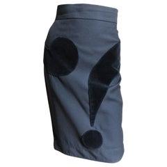 Moschino Question Mark Skirt