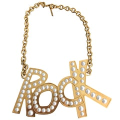 Moschino Rock Necklace