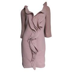 Moschino Ruffle Front Dress