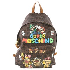Moschino Super Moschino Backpack Printed PVC Large