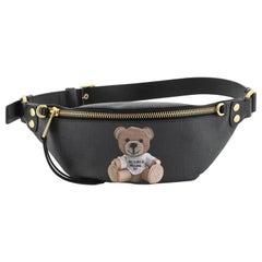 Moschino Teddy Bear Waist Bag Saffiano Leather