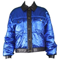 Moschino Vintage Womens Puffer Jacket
