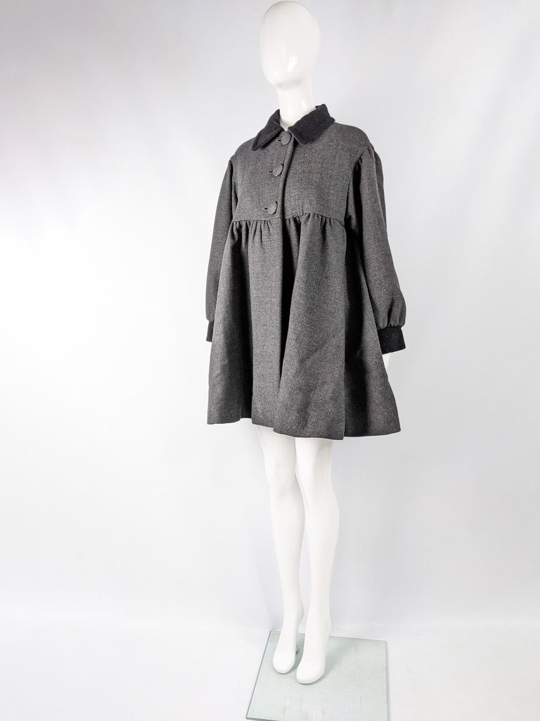 Women's Moschino Vintage Wool Coat For Sale