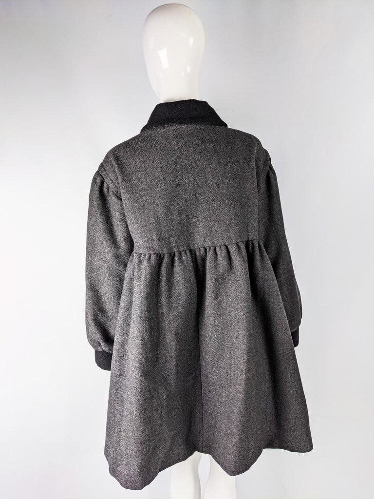 Moschino Vintage Wool Coat For Sale 1