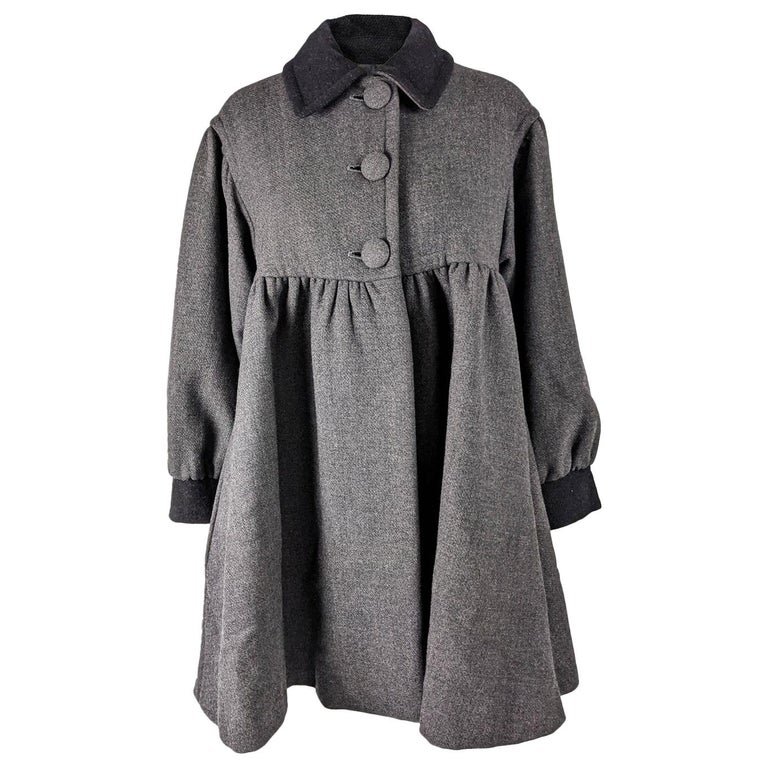 Moschino Vintage Wool Coat For Sale
