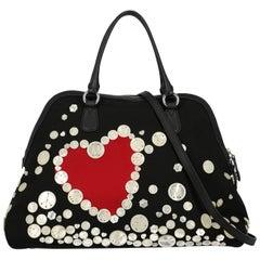 Moschino Woman Handbag Black