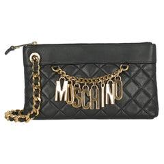 Moschino Women  Handbags  Black Leather