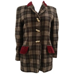 Moschino wool nuts jacket