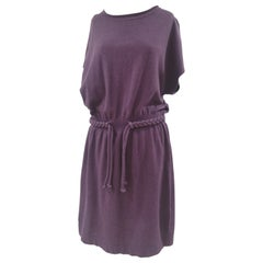 Moschino wool purple dress