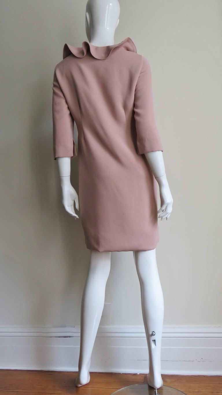 Moschino Zipper Edged Ruffle Dress For Sale 5