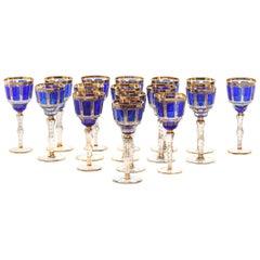 Moser Crystal Barware / Tableware Service / 16 People