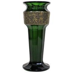 Moser Karlsbad Art Deco Glass Vase
